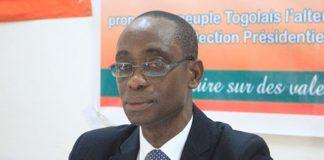 Le Secrétaire national Prof. Agrégé WOLOU Komi