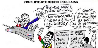 A partir d'une caricature originale de Donisen Donald / Liberté